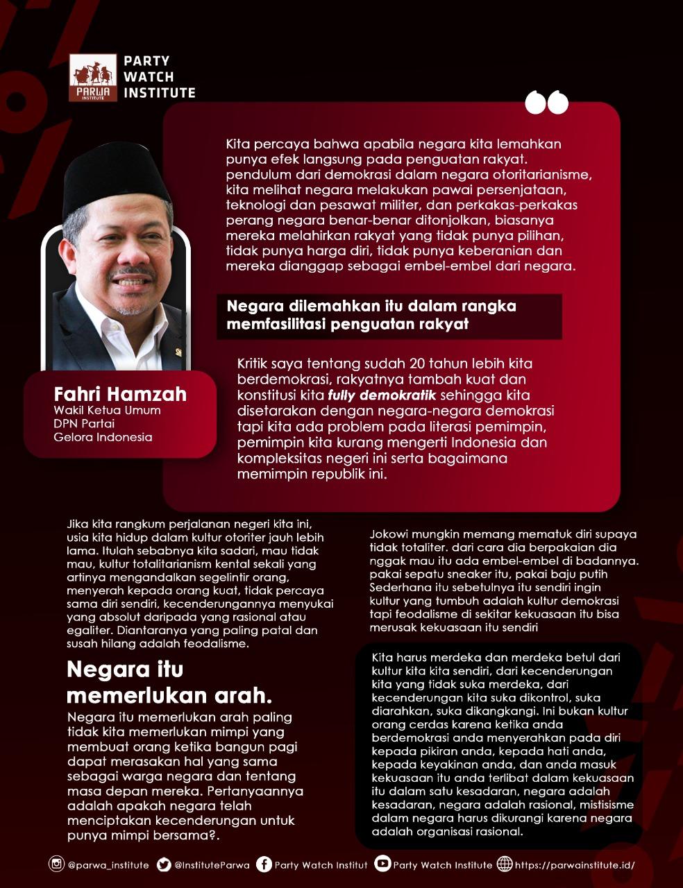 INDONESIA TANGGUH, INDONESIA TUMBUH